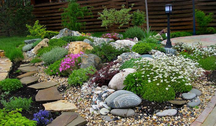 ▷ 1001 + Ideen und Bilder zum Thema Steingarten anlegen