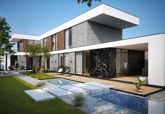 1001 Ideen Fur Moderne Einfamilienhauser Innen Und Aussengestaltung