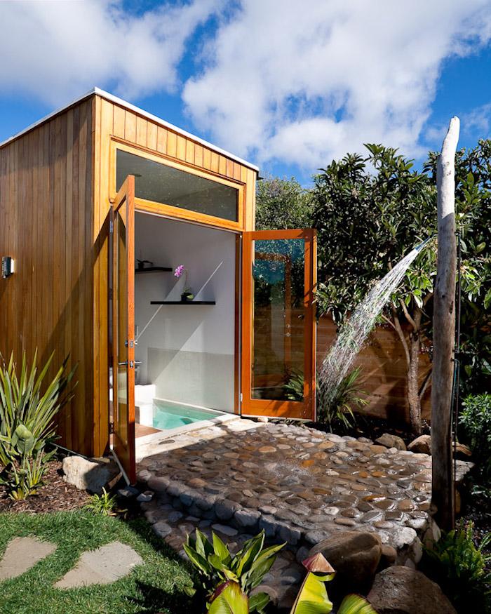 Outdoor dusche selber bauen wohn design for Outdoor dusche selber bauen
