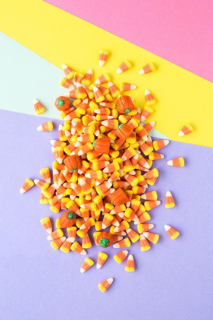 Halloween Leckereien für Kinder, Kürbis Gummibonbons für die Nacht der Schrecken