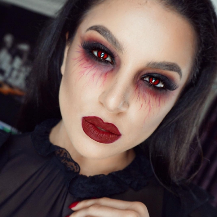 Halloween Make Up Frauen