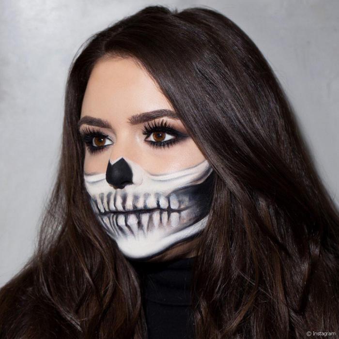 Halloween Schmink Ideen.1001 Kreative Ideen Fur Ein Einfaches Halloween Make Up