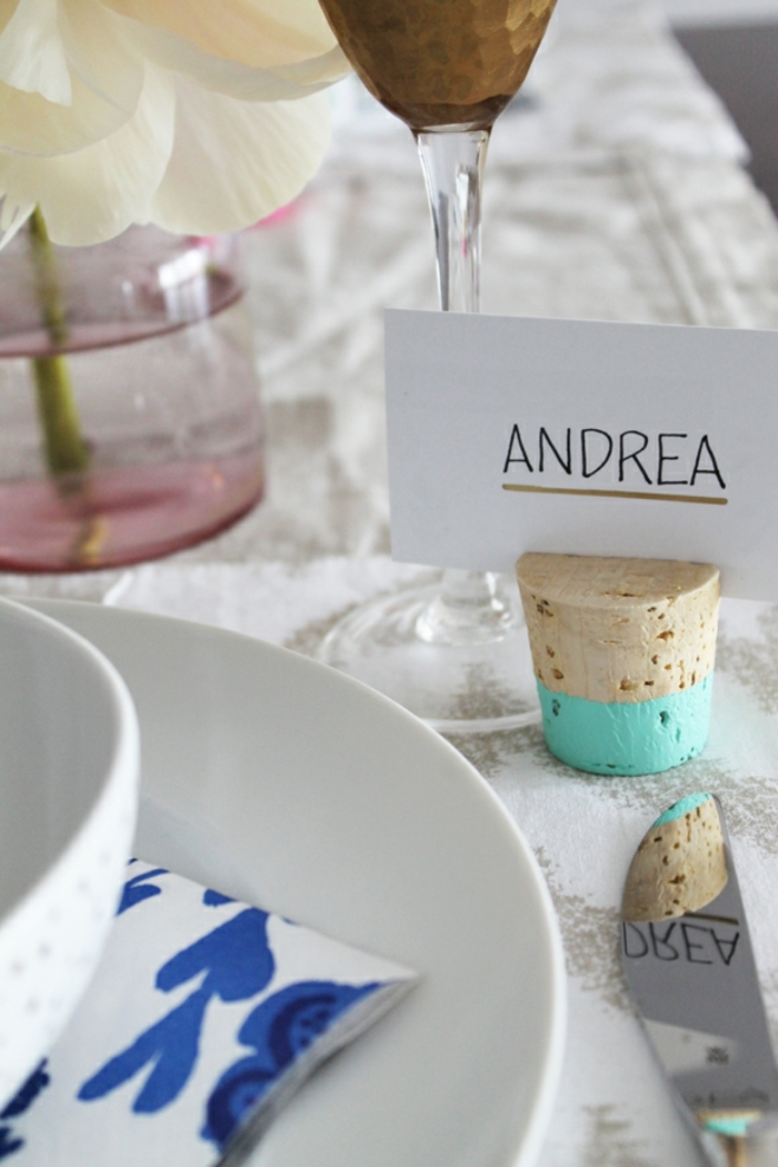 alle Produkte von Bastelprojekt shön auf dem Tisch arrangiert, Hochzeitsartikel