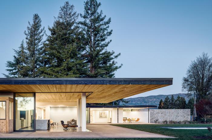 abend beleuchtung eine weitere idee für schöne häuser, waldhaus, haus in den bergen