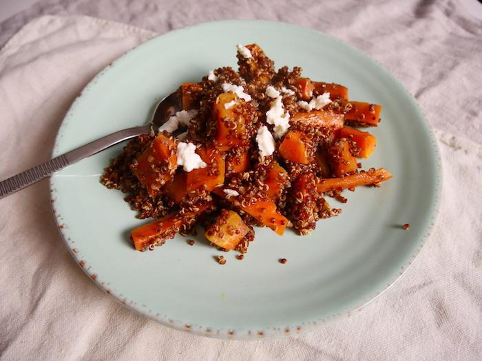 was ist quinoa rezept, kürbis mit samen und sahne oder yoghurt, ikea teller