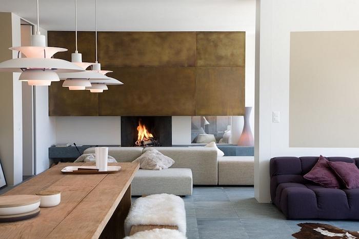 inspirierende ideen für haus design mit flauschigen elementen, komfortabel und stilvoll, skandinavischer stil