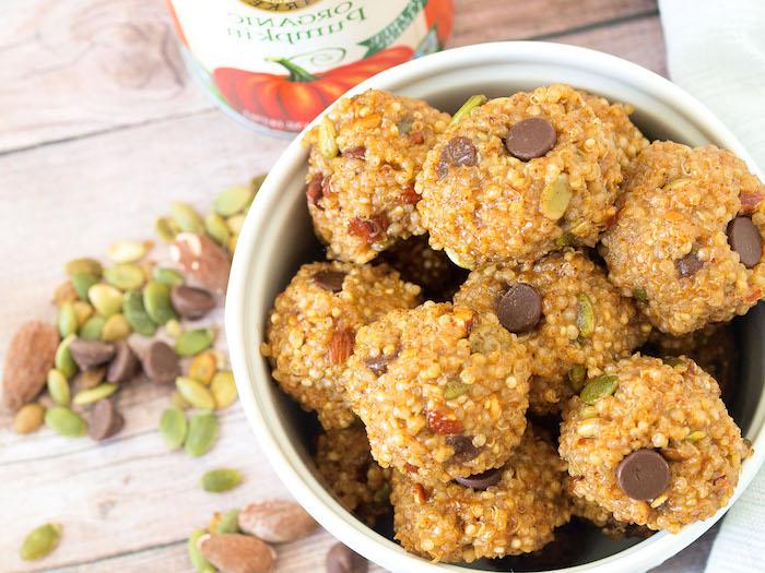 quinoa abnehmen rezepte, süßigkeiten gesund selber kochen und genießen
