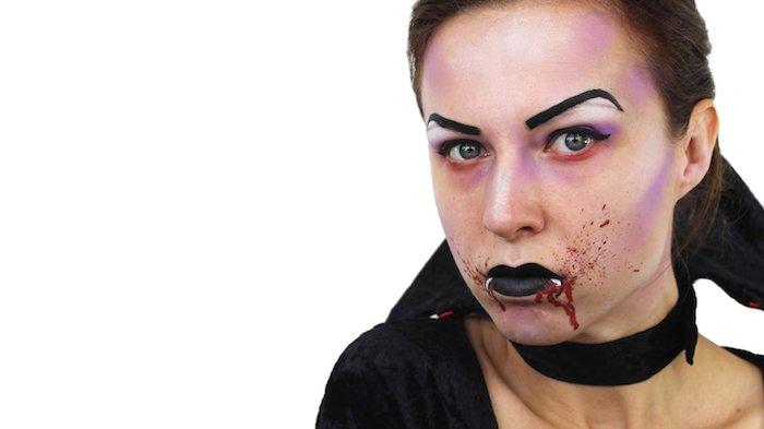 1001 ideen und bilder zum thema vampir schminken. Black Bedroom Furniture Sets. Home Design Ideas
