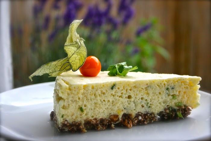 vegane glutenfreie rezepte, cheesecake mit quinoa boden, früchte, obst jogurt