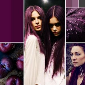 Die Hitfarbe von 2018 - Pflaumen Haare