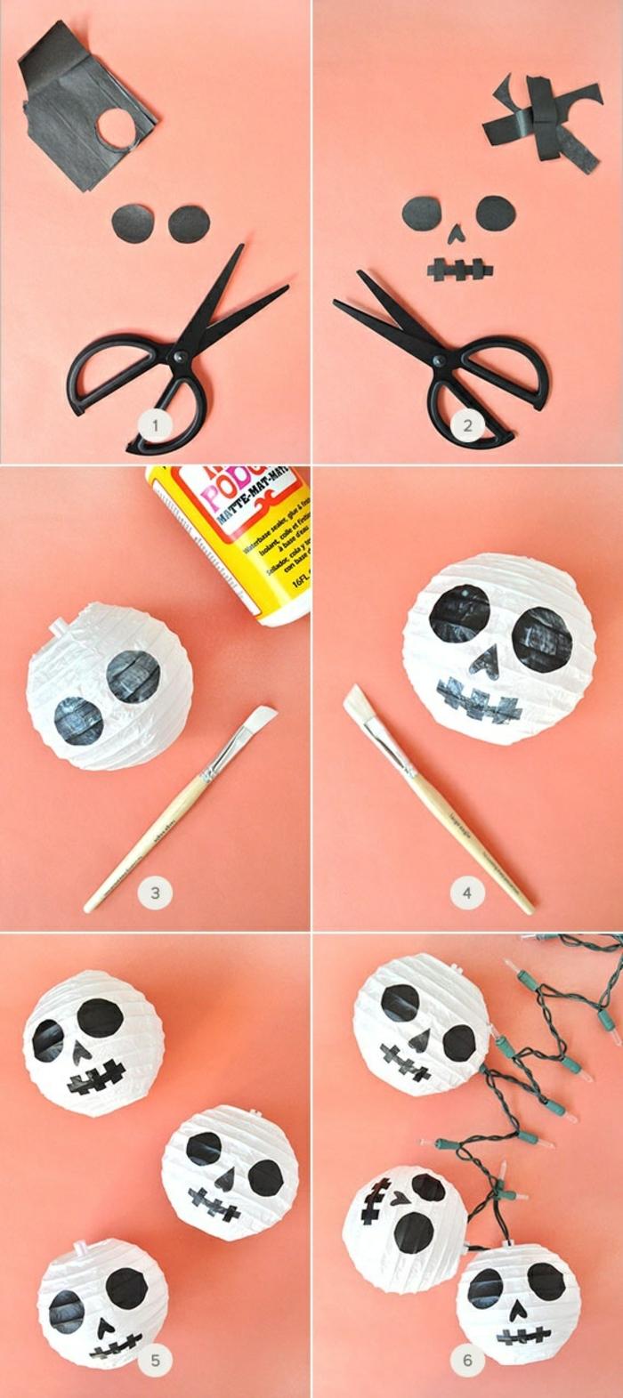 Bastelset Laterne, eine ausfürliche Anleitung, wie Sie die kleinen Mumien selber herstellen
