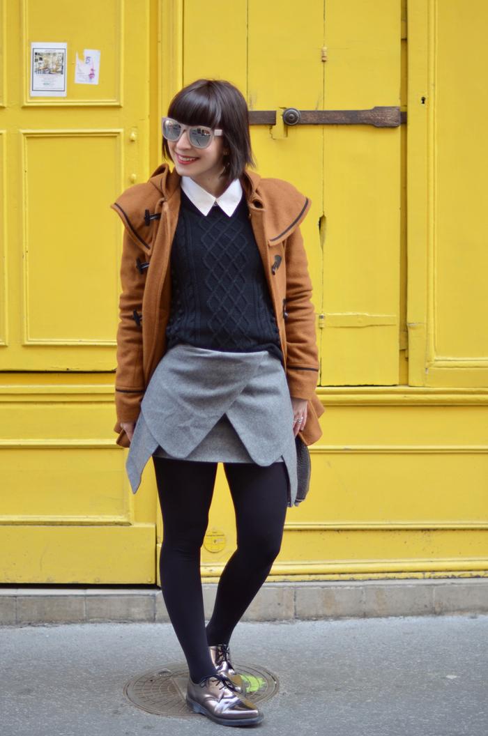 bob frisuren ideen für schülerinnen und studentinnen, rock, pullover hemd, schöne brille