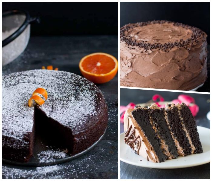 einfacher schokoladenkuchen mit orangen, torte seber machen, kuchen rezepte