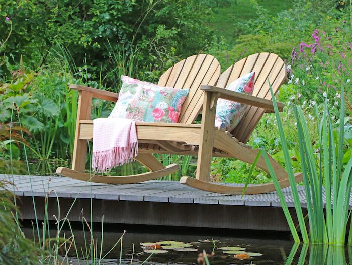 Den eigenen Garten in einen Ort zum Entspannen und Wohlfühlen verwandeln