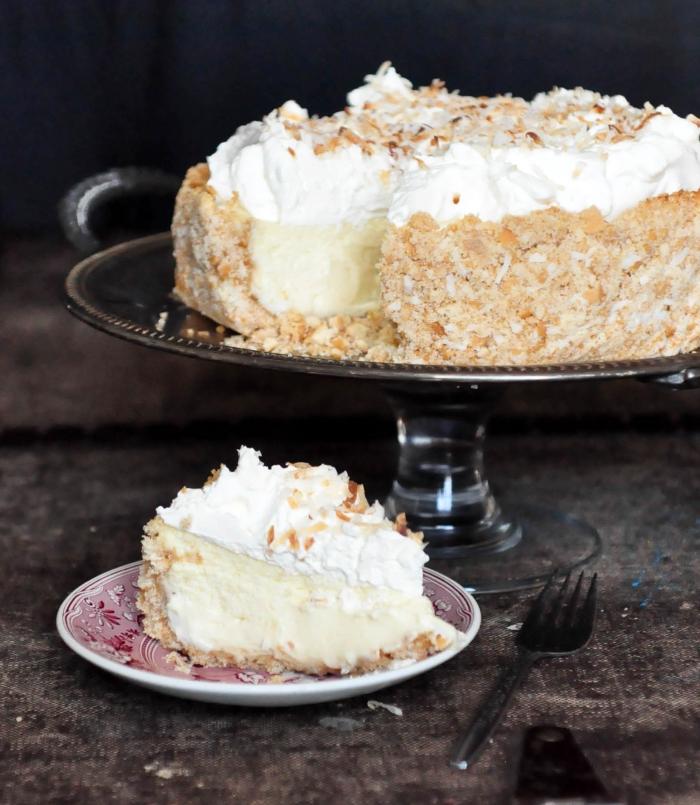 frischkäsetorte ohne backen, kuchen philadelphia mit kokos und vanille, rezept
