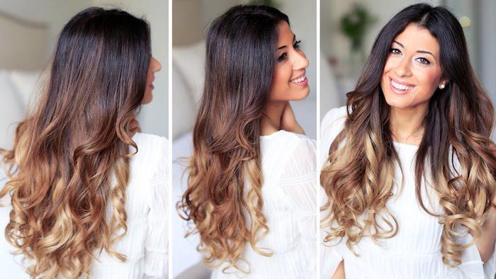 Einfache Frisuren Mit Lockenstab Yskgjtcom