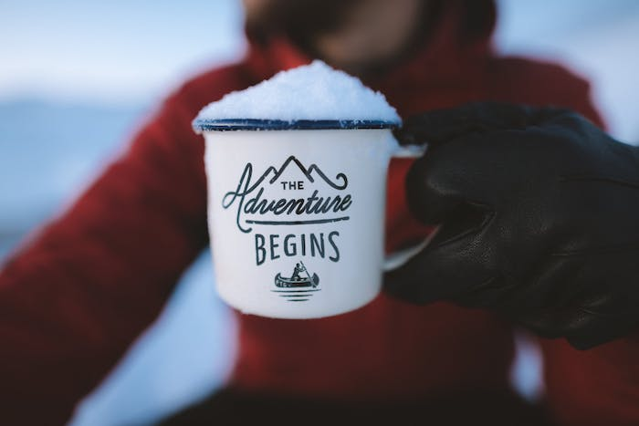 Das Abenteuer kann beginnen, neue Reiseziele anstreben