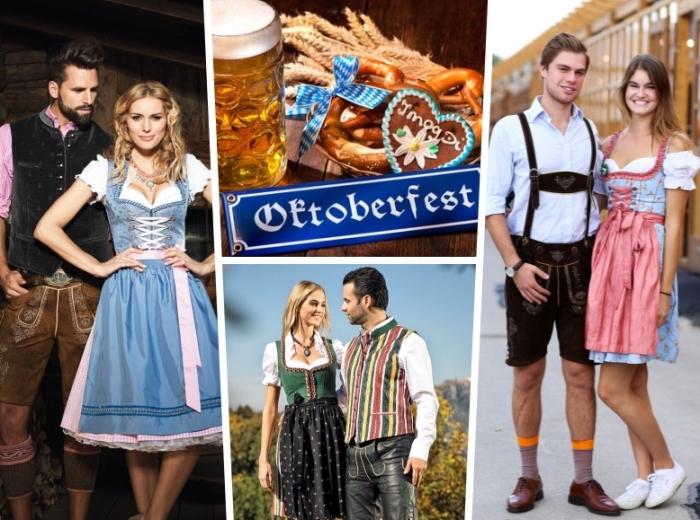 oktoberfest outfit ideen für männer und frauen, tipps zum perfekten look, dirndl, deutsche trachten