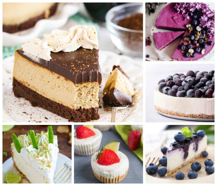 philadelphia torte selber machen, leckere rezepte, käsekuchen mit schokolade und karamell, torte mit limetten