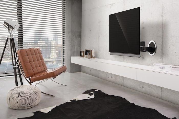 Mit TV Wandhalterung bequemes und augenschonendes Fernsehvergnügen genießen