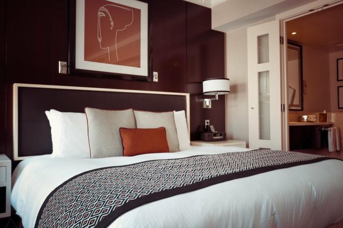 ein gemütliches Schlafzimmer, Schlafzimmer Luxus Trends
