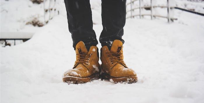 Gehen und Stehen wie auf Wolken, warme Schuhe für den Winter