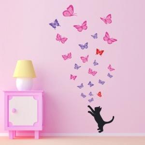 Schöne Wandsticker zur Abwechslung in jedem Raum
