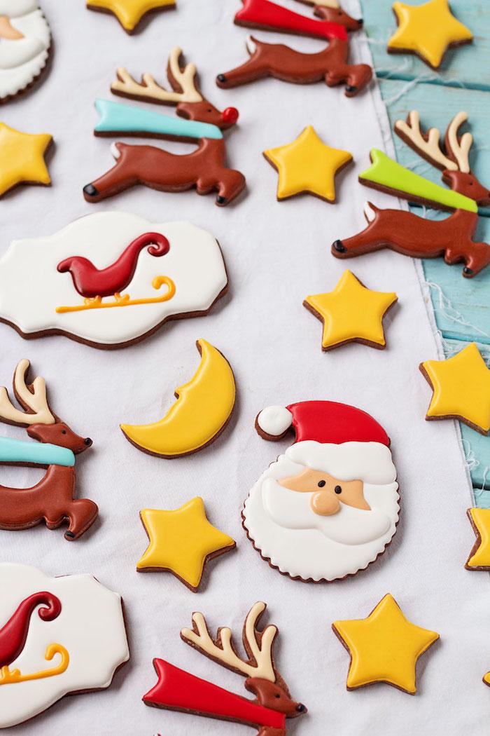 Leckere und schöne Weihnachtsplätzchen zum Ausstechen, Weihnachtskekse selber backen und verzieren
