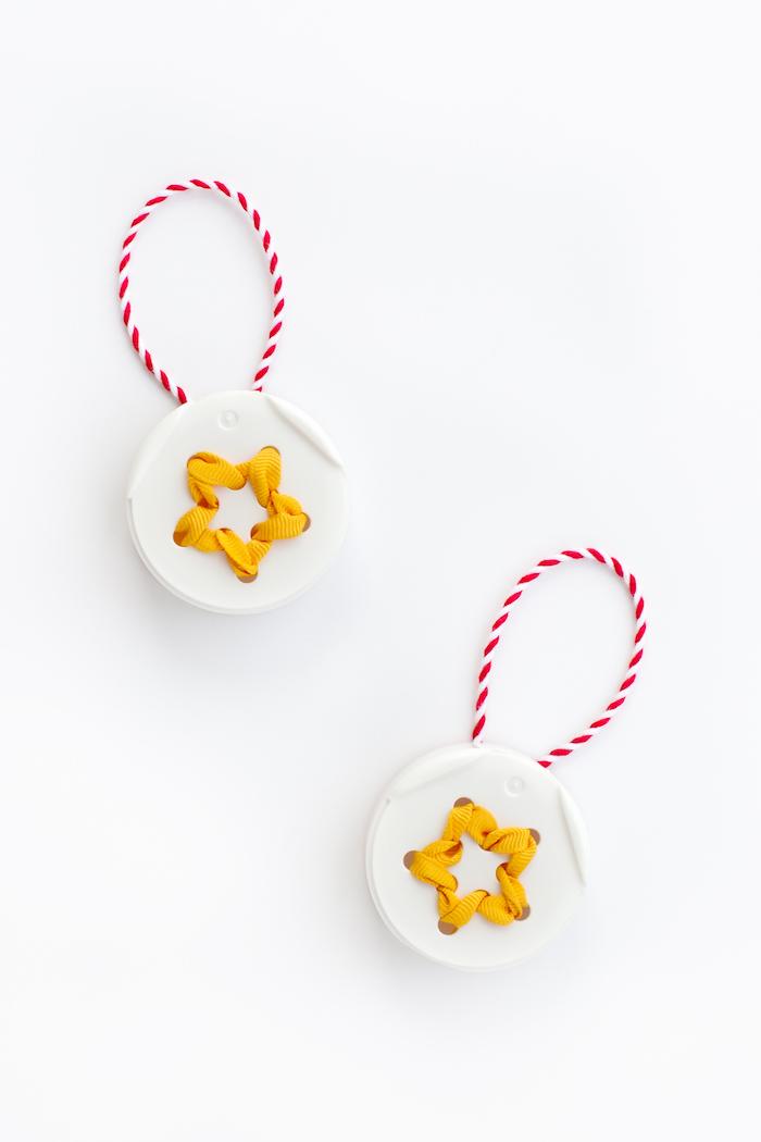 Kleine Anhänger für den Weihnachtsbaum selber machen, DIY Ideen für Kinder und Erwachsene