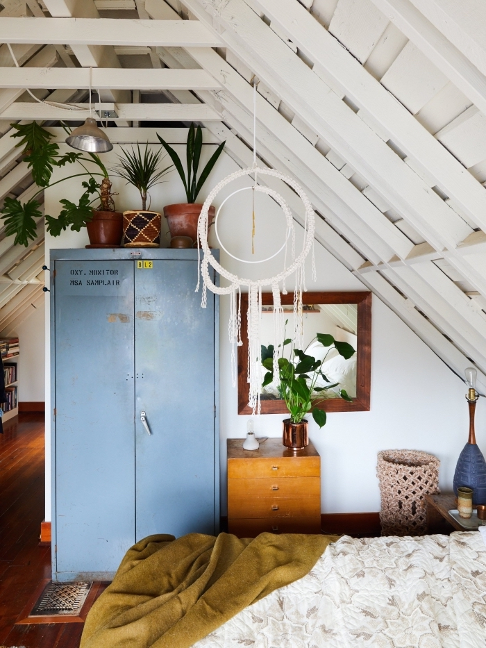 1001 ideen f r makramee gestaltungs deko und for Dachgeschosswohnung dekorieren