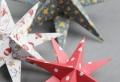 Lustiges Weihnachtssterne Basteln zur Weihnachtszeit