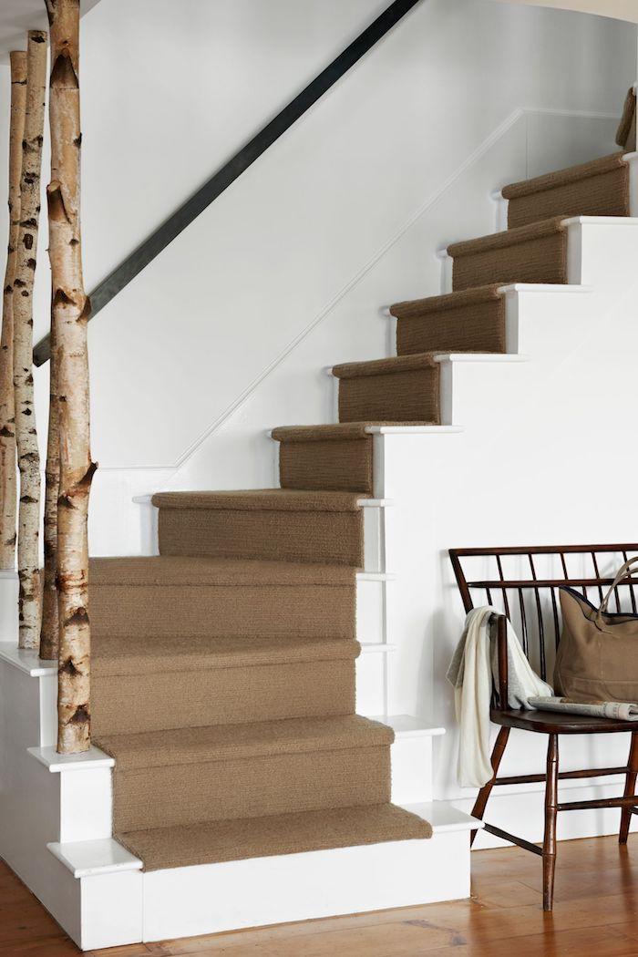 Treppe im ländlichen Stil, welche Treppenform eignet sich am besten für Ihre Zwecke