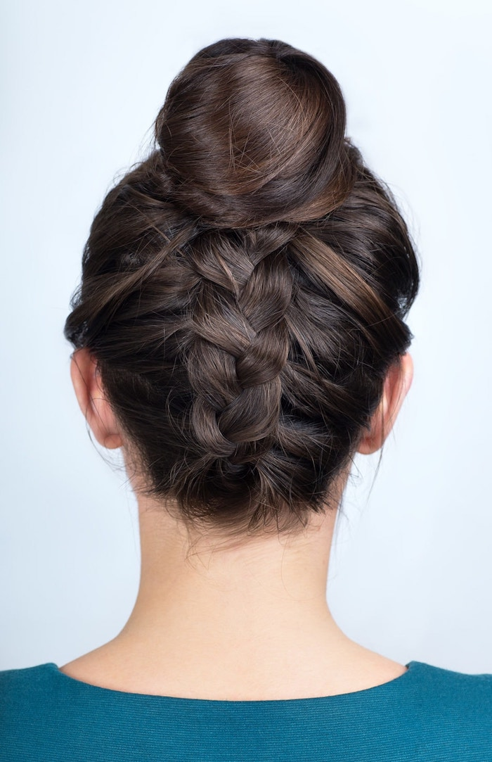 Schöne und einfache Dutt Frisuren zum Nachstylen, Hochsteckfrisuren für besondere Anlässe