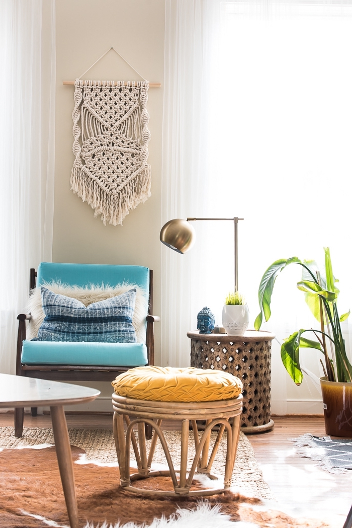 makramee armband und deko für das zuhause, wohndeko ideen, makramee selber gestalten