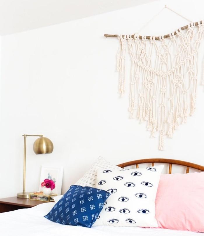 1001 ideen f r makramee gestaltungs deko und. Black Bedroom Furniture Sets. Home Design Ideas