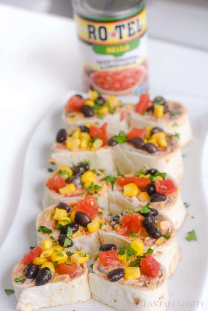 tortillas mit mais, tomaten, schinken und oliven, partyrezepte für 20 personen