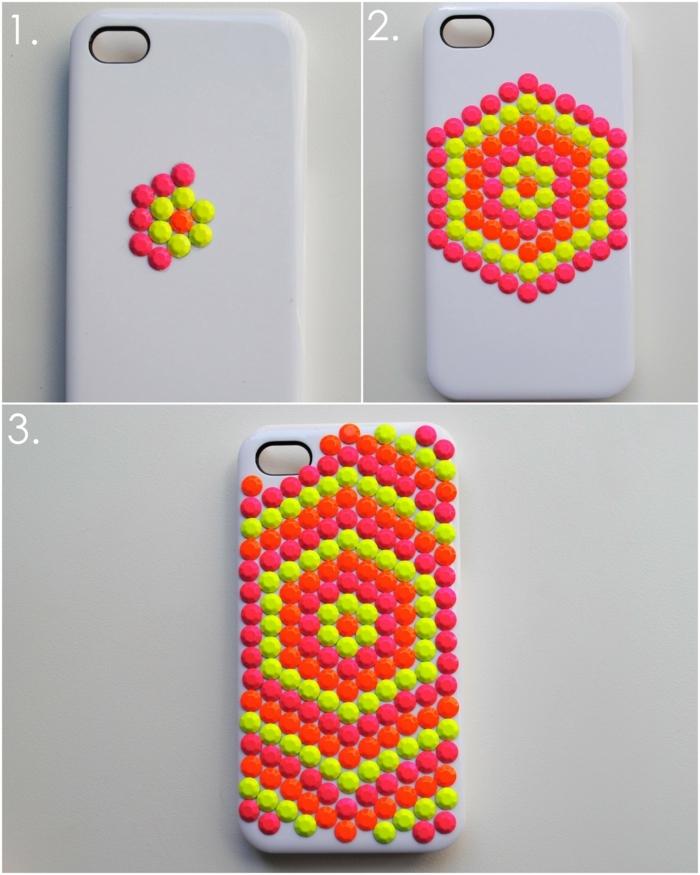 Handyhülle designen, Schritt für Schritt, wie Sie diese graffischen Muster selber gestalten