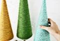 Weihnachtsbaum basteln: kreative Ideen & Anleitungen
