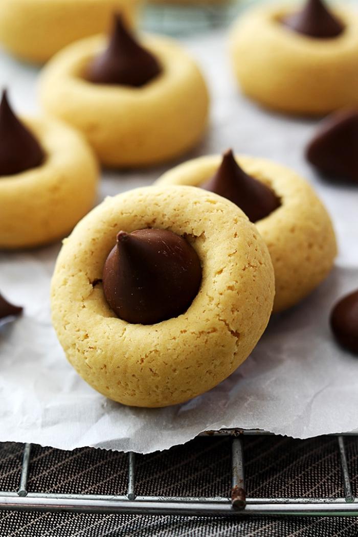 schneller weihnachtlicher nachtisch, keksen mit schokoladenchips rezept, dessert ideen