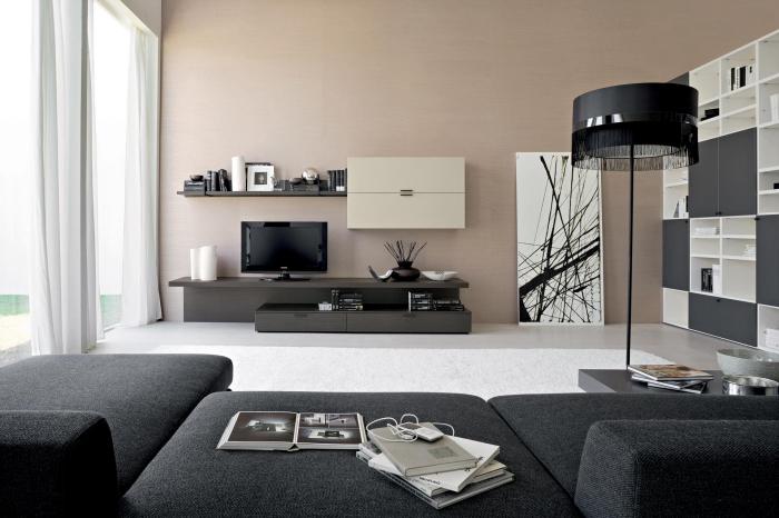 Wohnzimmer Anthrazit Wande Finest Full Size Of Couch Wohnzimmer
