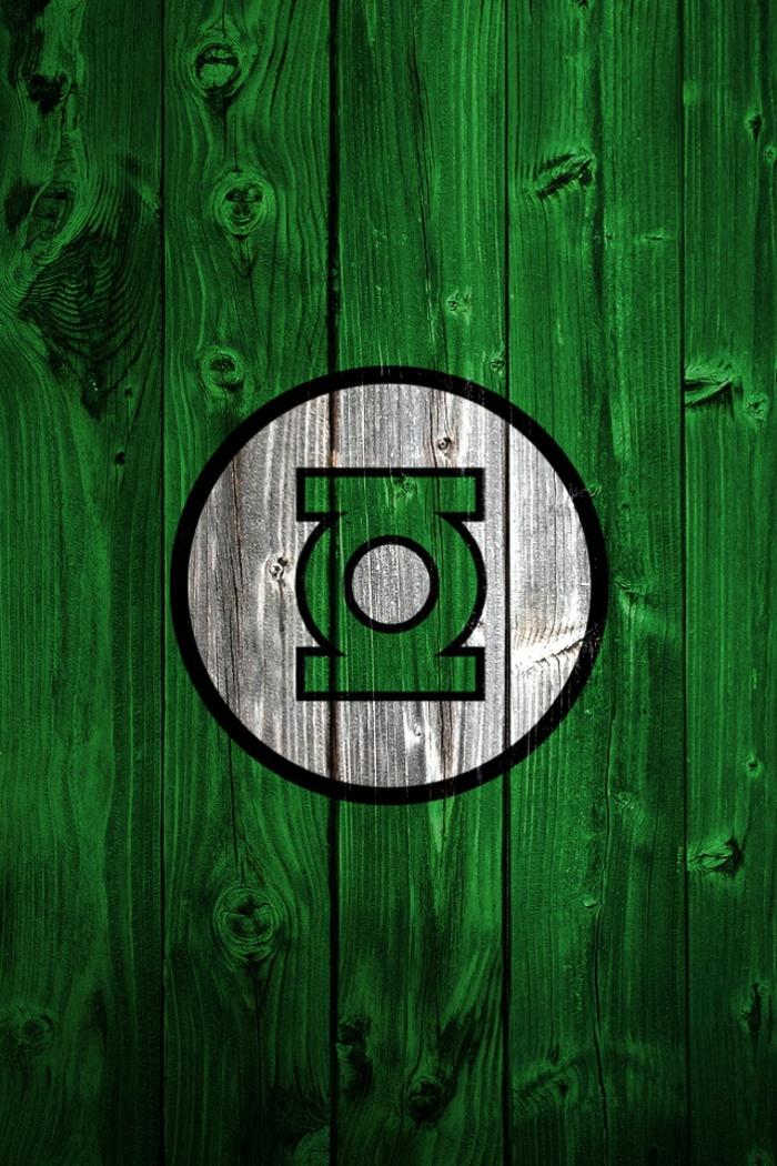 handy wallpaper in grüner farbe erinnert an die farbe der natur, relaxierende farbidee