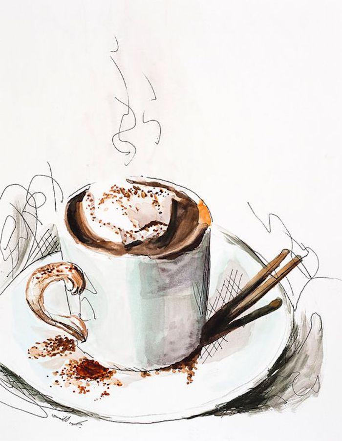 Christbaumkugeln Cappuccino.1000 Schone Zeichnen Ideen Mit Detaillierten Anleitungen
