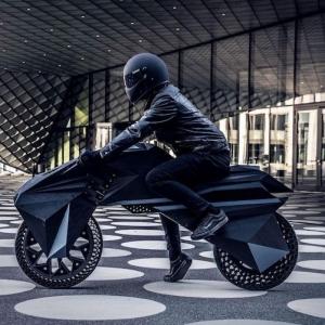 """""""Nera"""" - das erste Motorrad aus dem 3D-Drucker"""