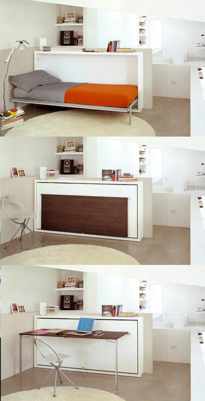 drei Fotos, wie aus einem Möbel ein kompaktes Wohnzimmer selber einzurichten, Wohnideen Wohnzimmer