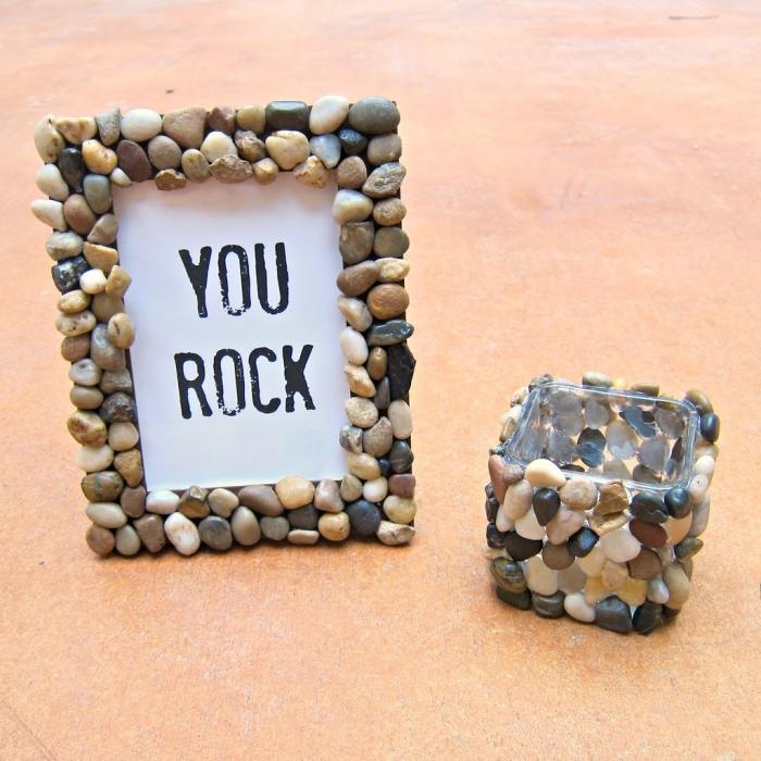 geschenk für besten freund, you rock, bilderrahmen dekroiert mit seinen