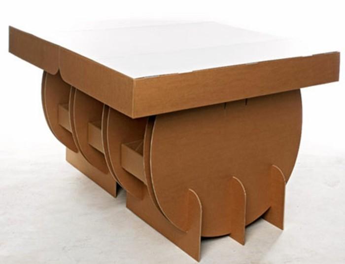 möbel aus papier und karton selber machen, kleine modelle von große möbelstücke, günstige möbel, diy möbel