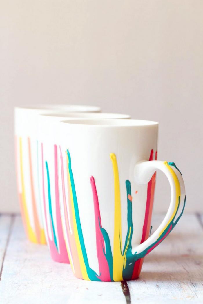 ▷ 7 + Ideen und Inspirationen, wie Sie Porzellan bemalen