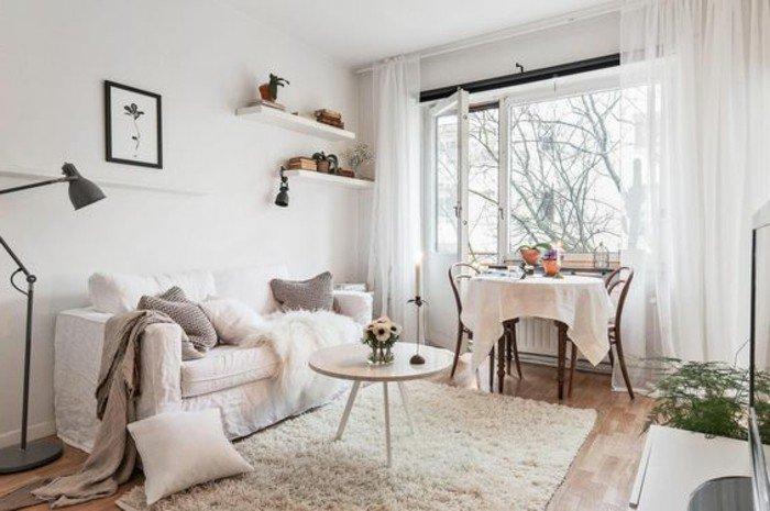 kleines schlafzimmer, designer gestaltung, trendy ideen für das mini zuhause, wohninspo