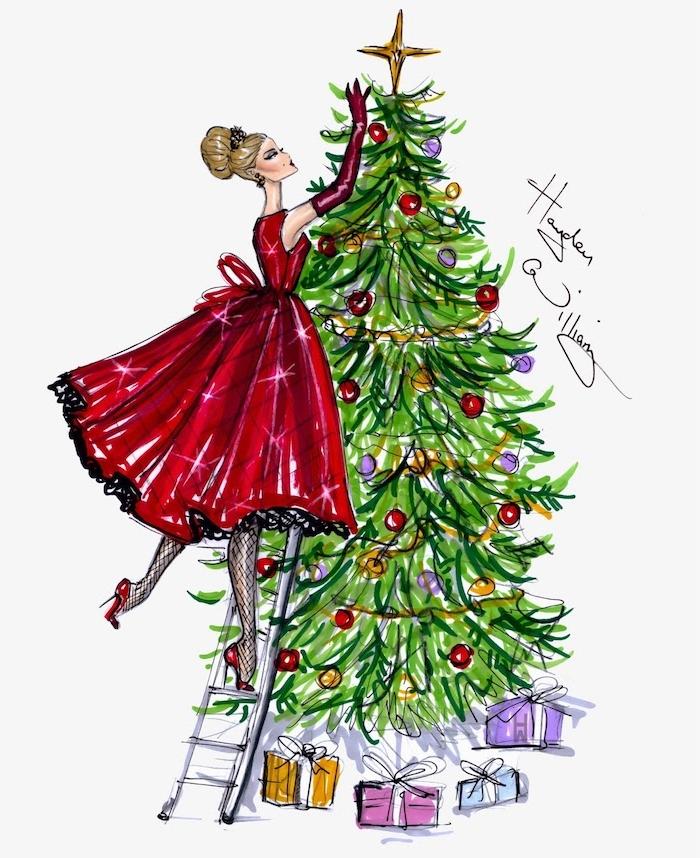 Weihnachtsbilder Tannenzweig.1000 Schöne Zeichnen Ideen Mit Detaillierten Anleitungen
