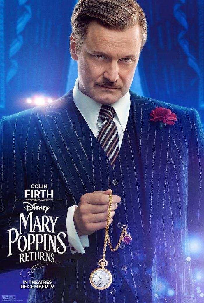 """Der Oscarpreisträger Colin Firth spielt auch in """"Mary Poppins' Rückkehr"""""""